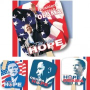 Hand Fans Obama
